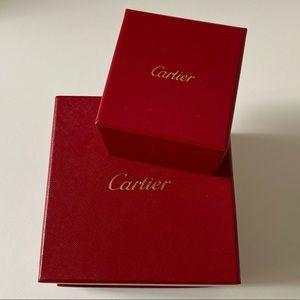 Authentic Cartier boxes set!